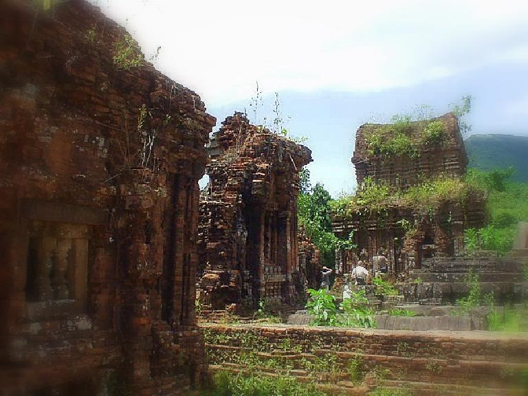 These ruins were still intact.