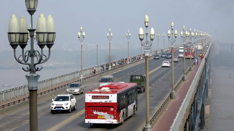 The Yangtze River Bridge. (May 20, 2014)
