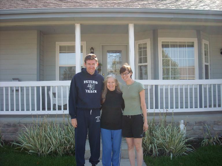 Tim with Dee and my friend Sarah visiting from CA. (September 16, 2011)