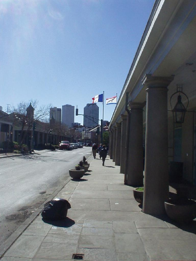 All in all, the French Quarter looked good.