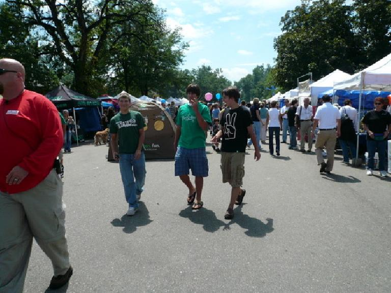 People from all over came to New West Fest, an annual music festival in Fort Collins.