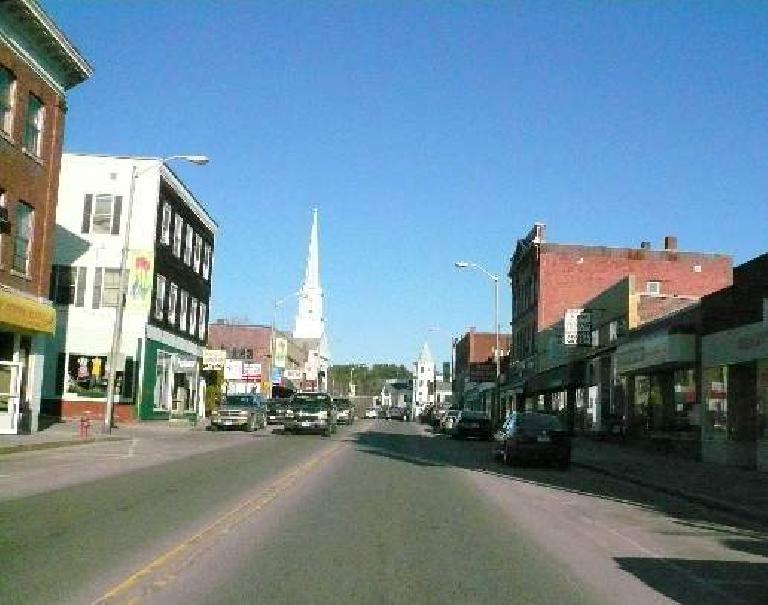 "Norman Crampton ranked Littleton, NH, #9 in his book ""The Best 100 Small Towns in America."""