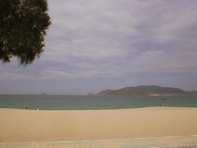 The beach at Nha Trang.