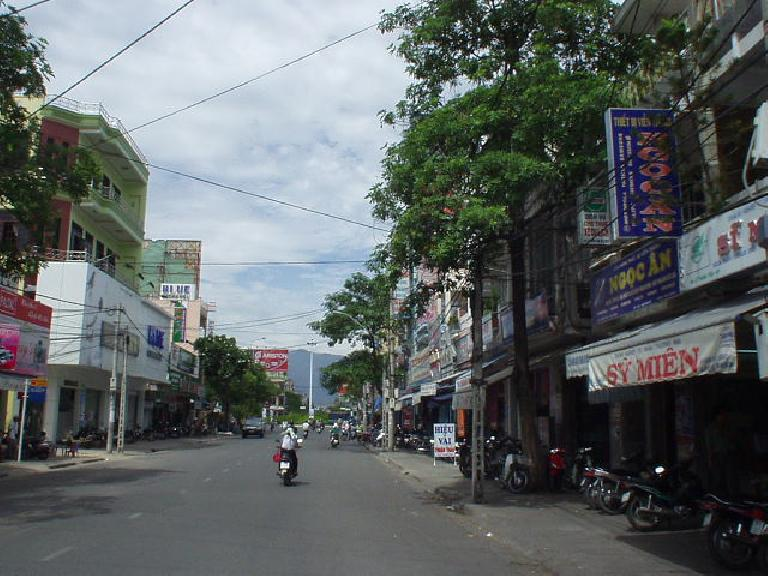 Through the streets of Nha Trang.