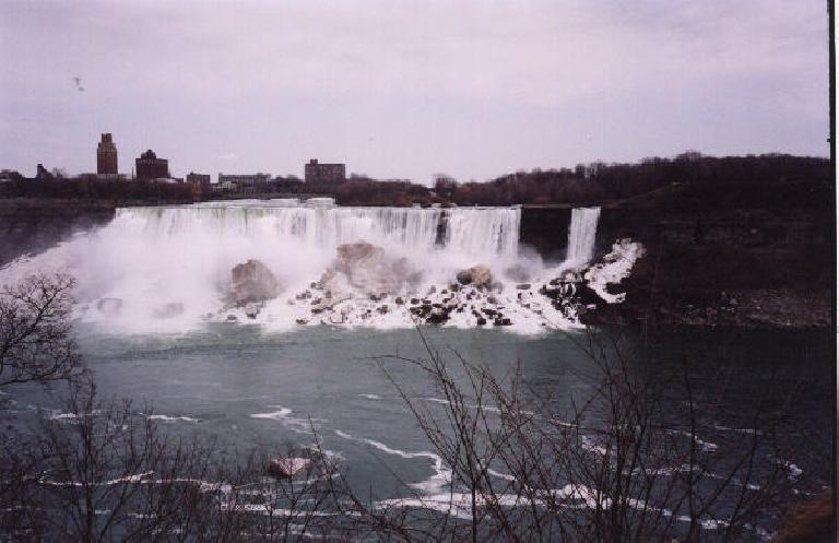 The American side of the Falls.
