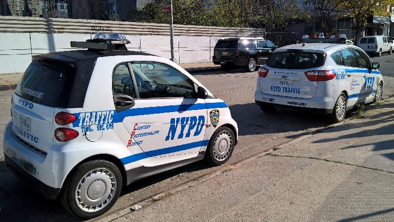 NYPD Smart car, NYPD Ford C-Max