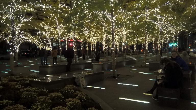 The 9/11 Tribute Center.