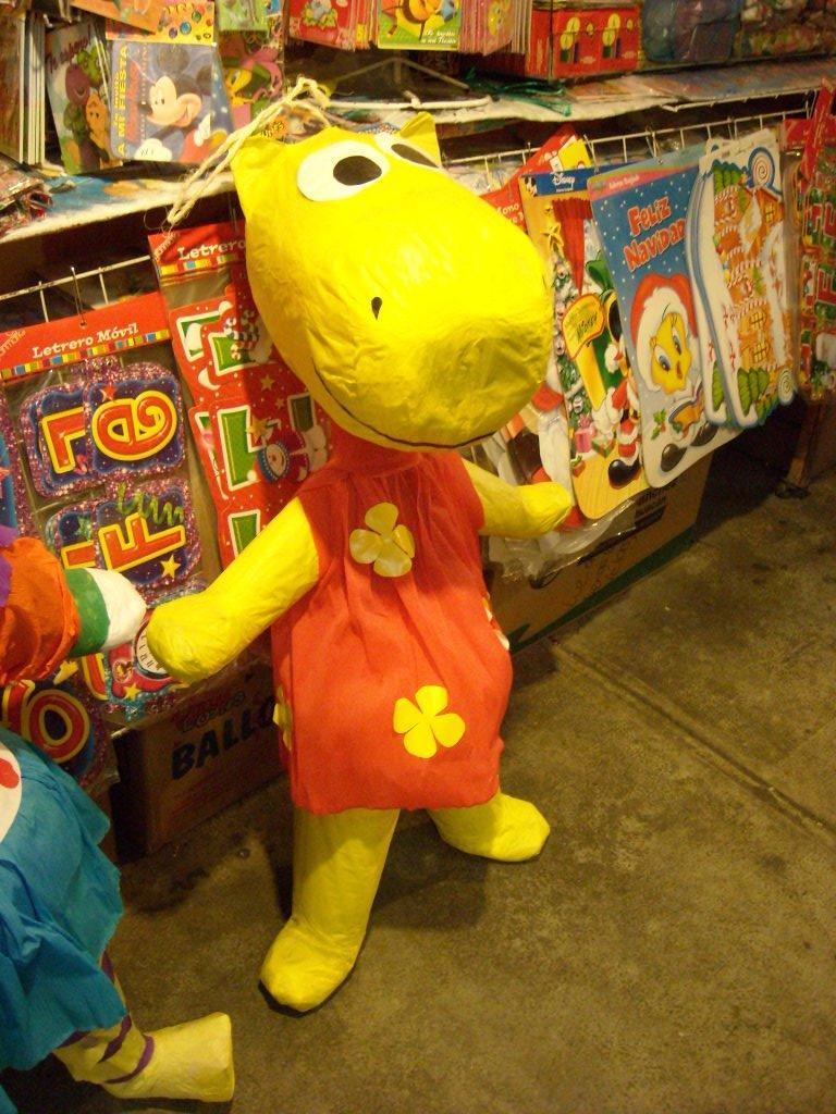 Funny looking stuffed animal.