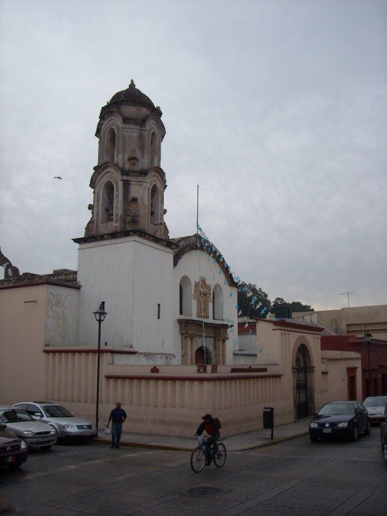 There are a lot of churches in Oaxaca.