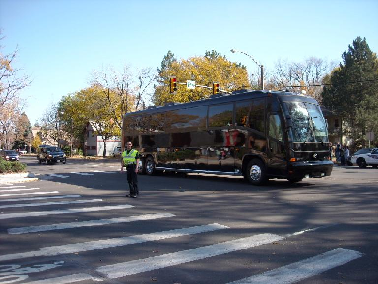 The Obama bus.