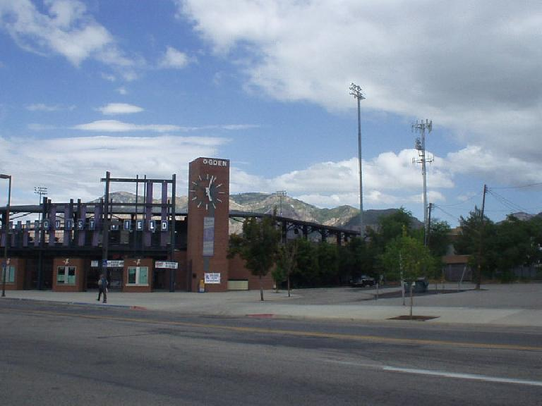 Lindquest Field in Ogden.