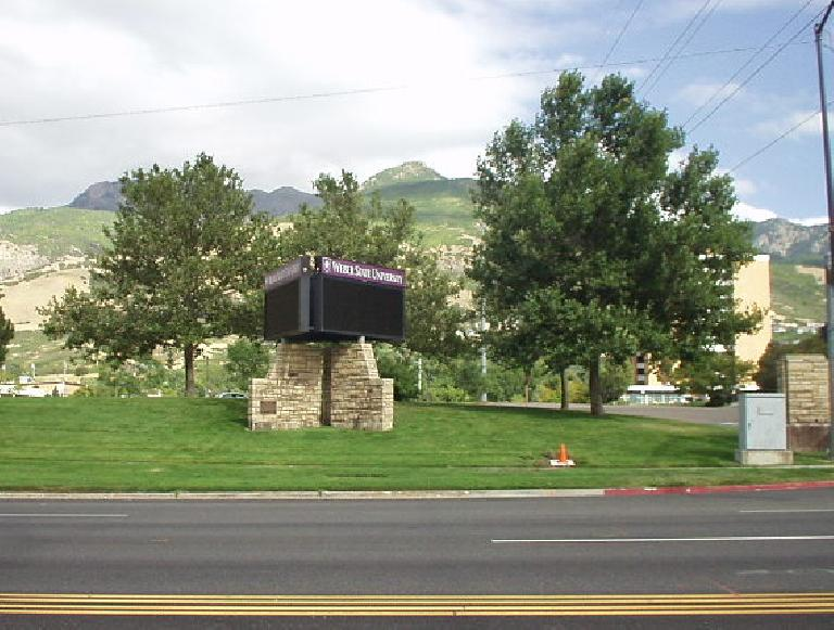 Weber State University is 4 miles southeast of downtown.