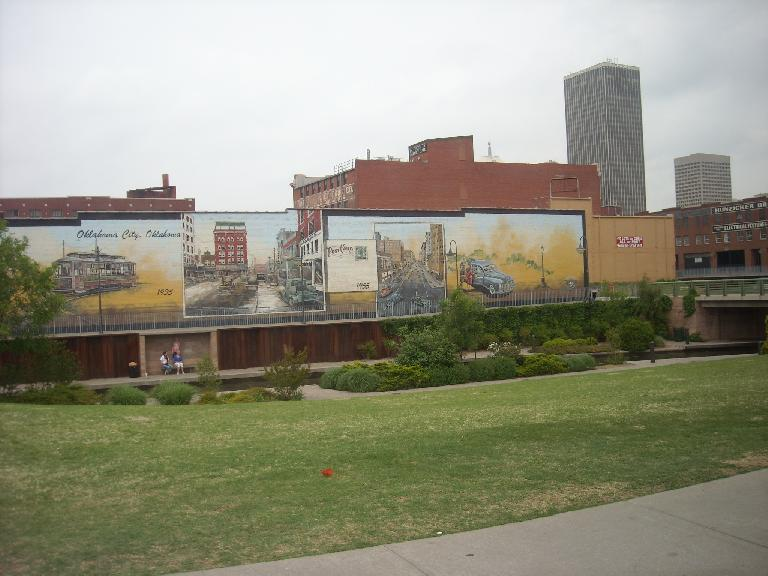 Murals downtown.
