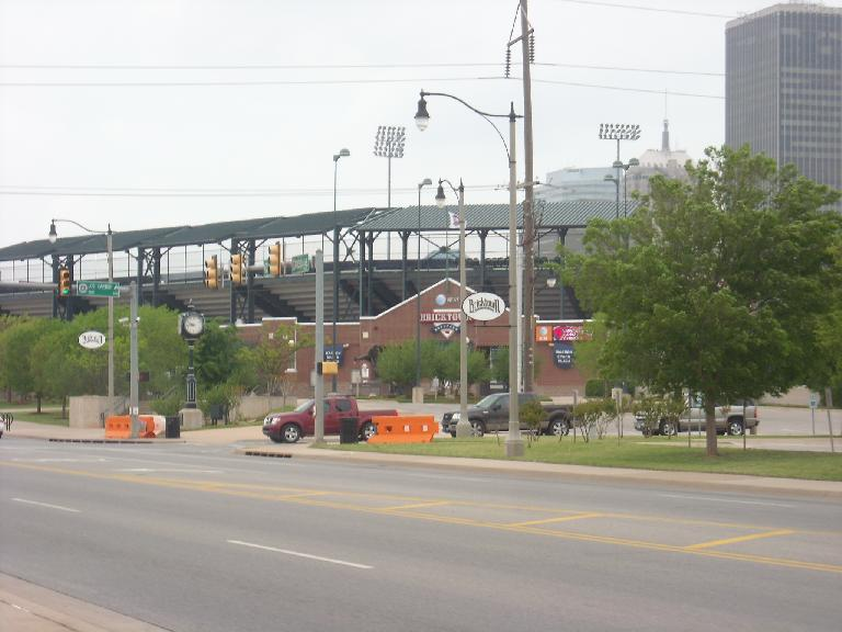 Bricktown is a trendy area in downtown Oklahoma City.