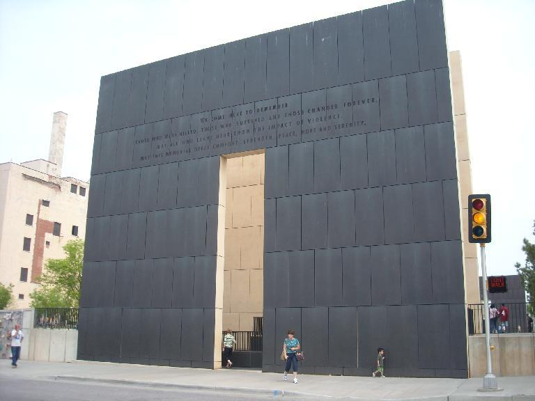 The Oklahoma City National Memorial.