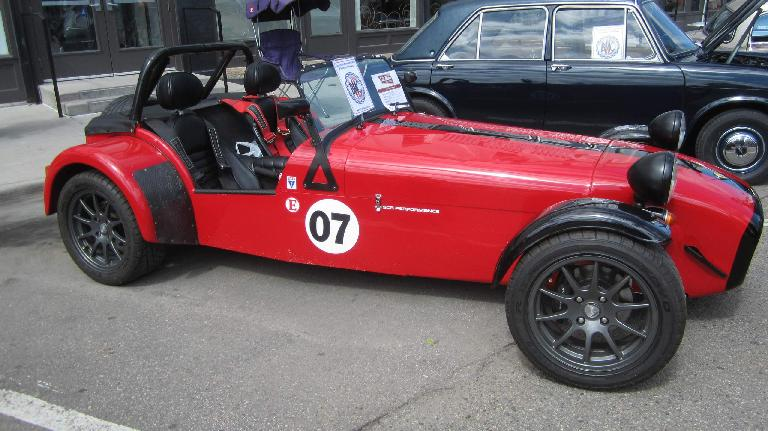 red Caterham 7