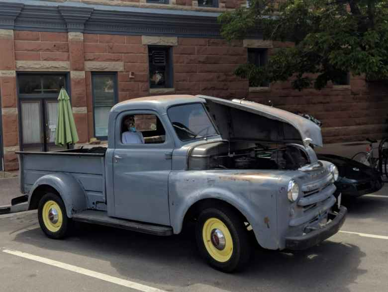 My friend Flash Alexander's 1950 Dodge pickup truck.