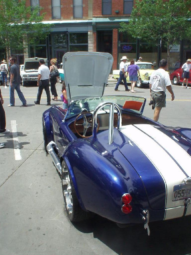This was not a faithful replica of the AC Cobra, considering that it featured a computer monitor for all of the data feedback inside of the cockpit.