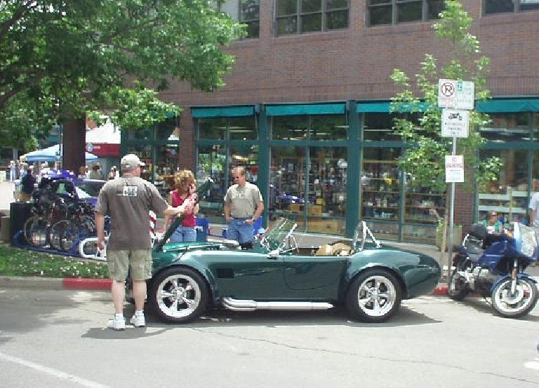 A AC Cobra replica.