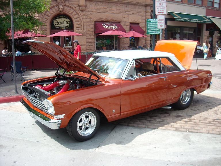Another Chevy Nova... ths one modded a bit.