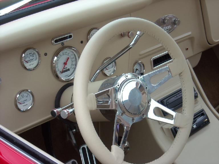 The gauges on this dashboard were like jewelry.