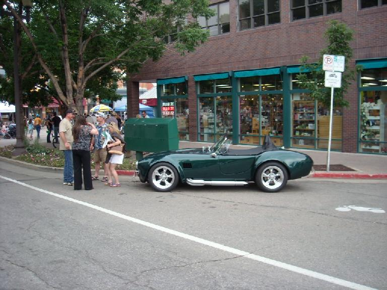 Shelby Cobra replica.
