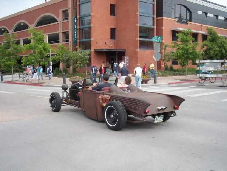 A hot rod project that was for sale and driveable.
