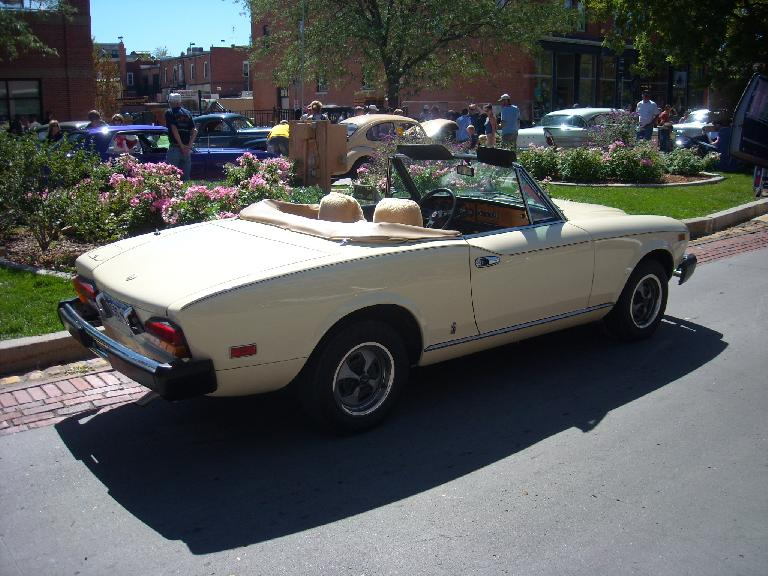 The Fiat 124 Spyder was on my short list for a first car a couple decades ago.  They still look good to me after all these years.