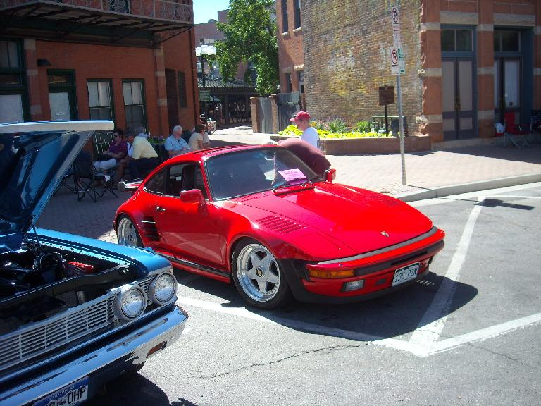 A 1988 Slant Nose Porsche 930.