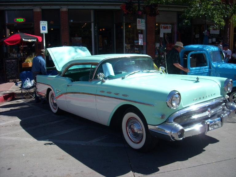 This 50s Buick was nice.