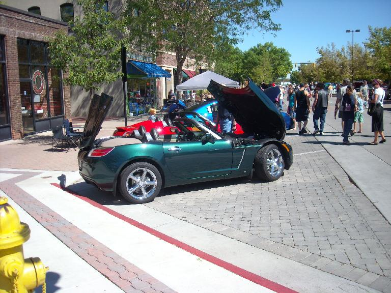 Saturn Sky -- one of the few really cool cars Saturn made.
