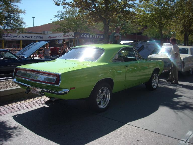 Plymouth Barracuda.