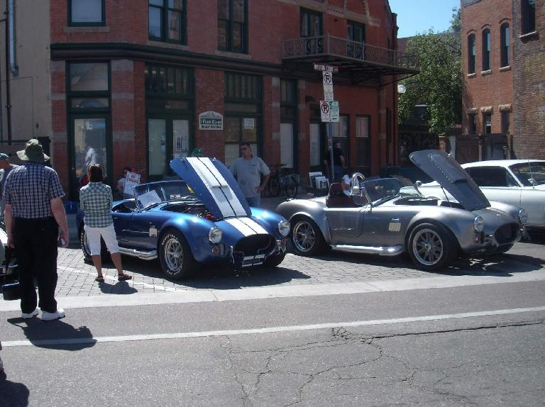 Shelby Cobras.