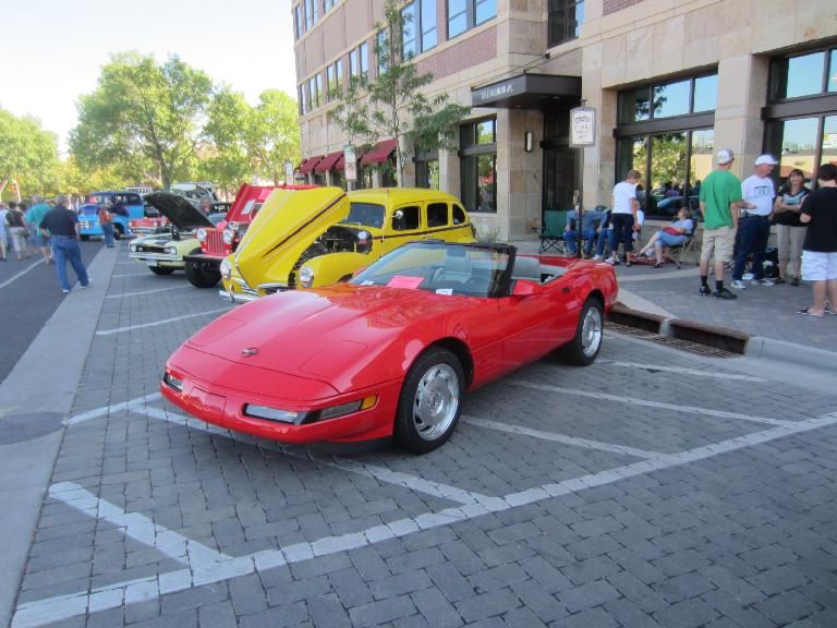 C4 Corvette convertible.
