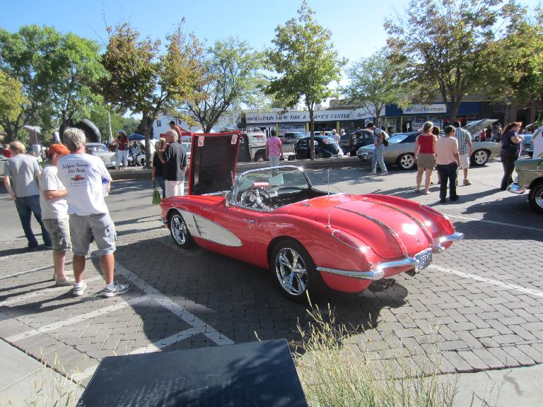 1957 Chevrolet Corvette.  This was my favorite of the show.