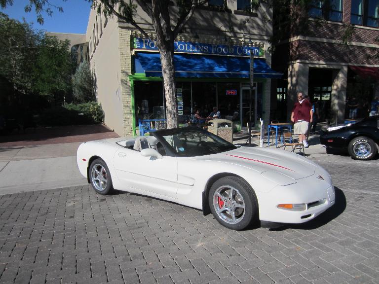 C5 Corvette convertible.