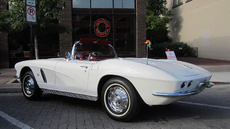 First-generation Corvette roadster.