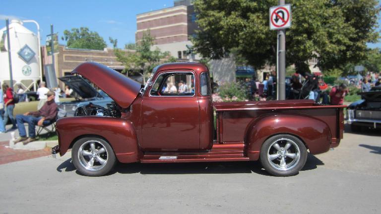 Nice pickup truck.