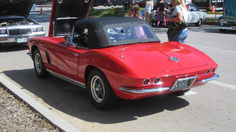 Early 1960s Corvette.