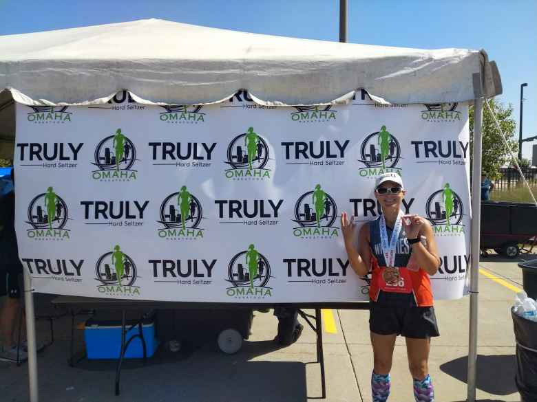 Nebraska was Mel's 30th marathon state.