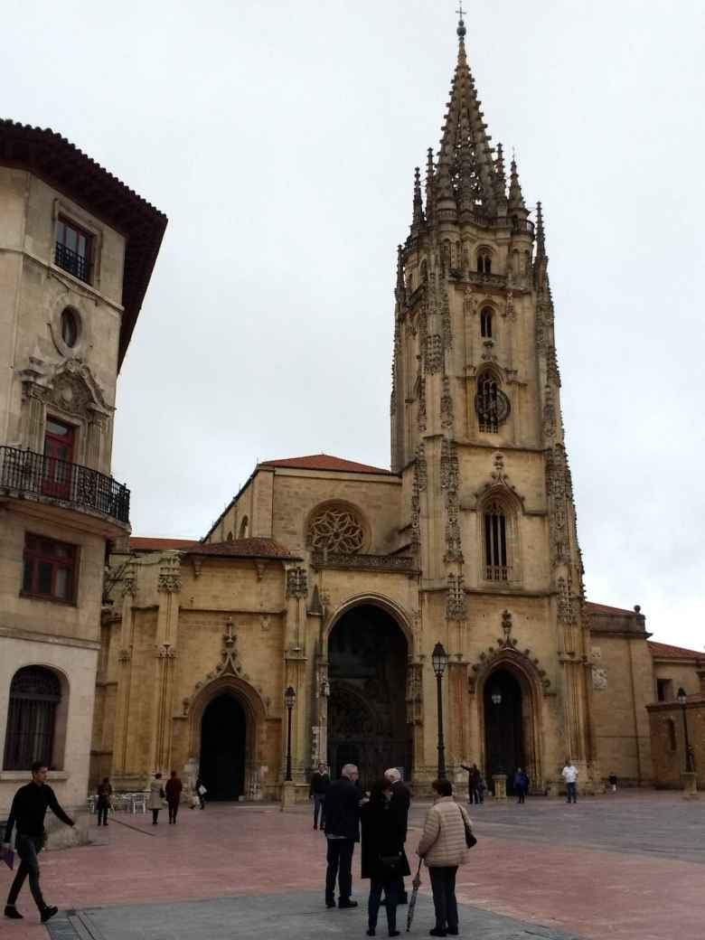 The Cathedral of San Salvador (Oviedo Cathedral).