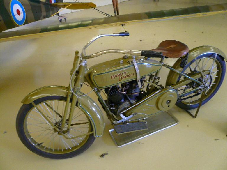 The 1919 Harley-Davidson Model J.