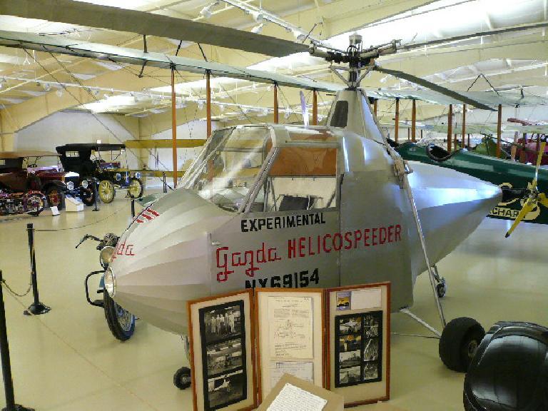 1945 Gazda Helicospeeder.