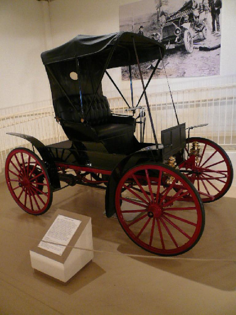 The 1908 Sears Motor Buggy.  Sears stopped making cars in 1912 due to losing money.
