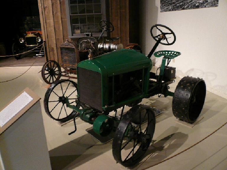 This 1928 Worthington Tractor started out as a Model T.