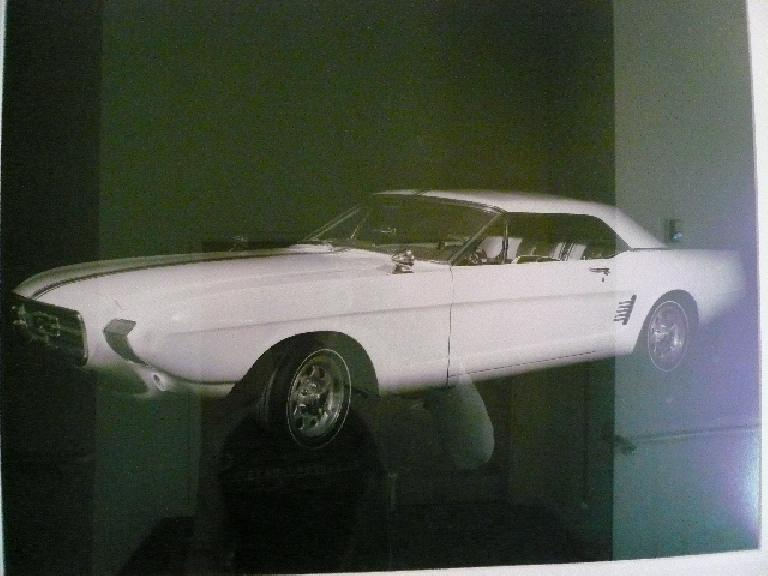 This photo shows what the prototype looked like.