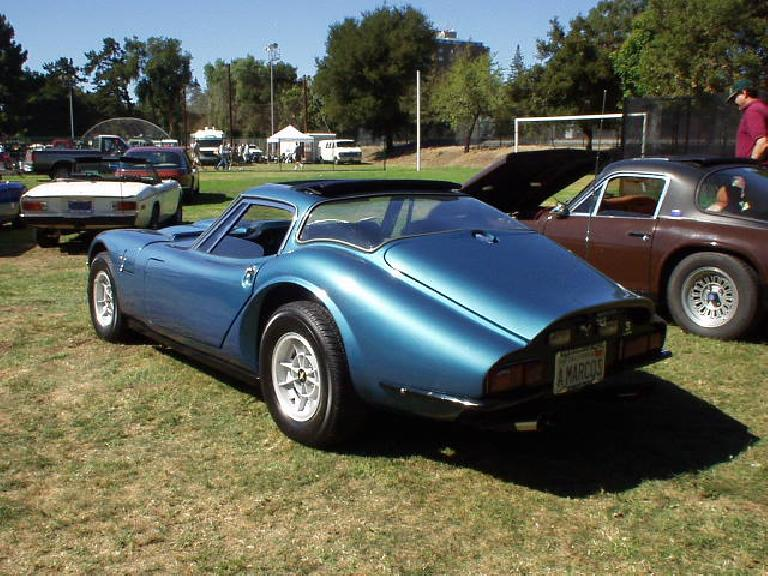 A blue Marcos, which are little-known in the U.S. but very cool.