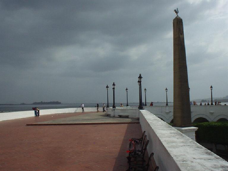 Pier in San Felipe. (March 11, 2007)