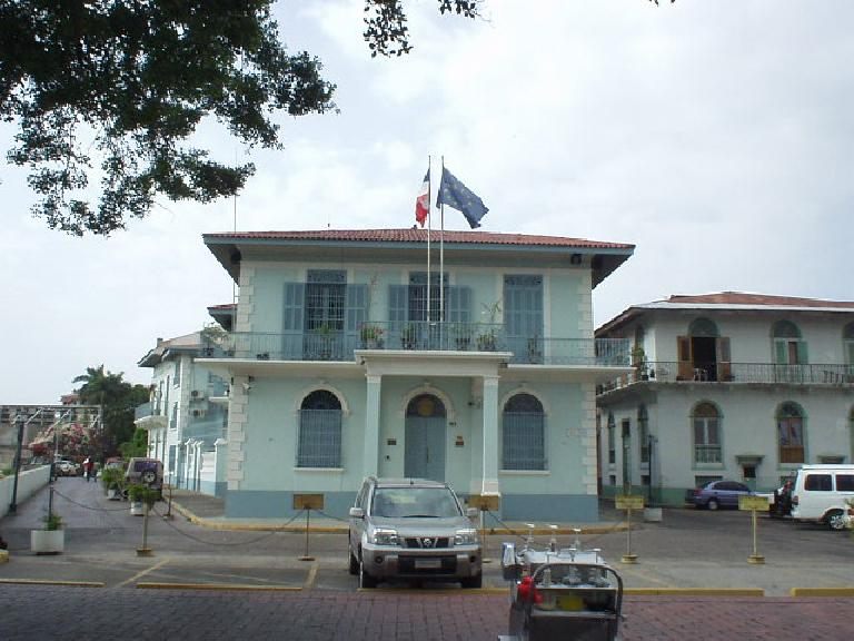 French Embassy in San Felipe. (March 11, 2007)
