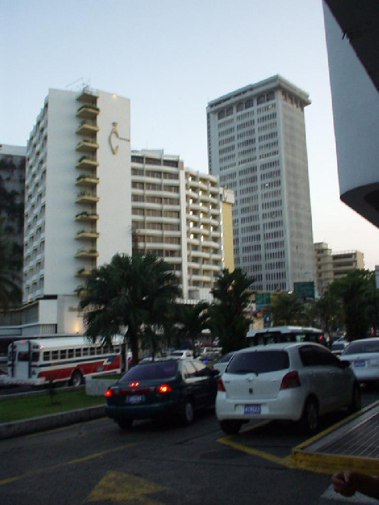 Buildings in the Bella Vista area of Panama City.
